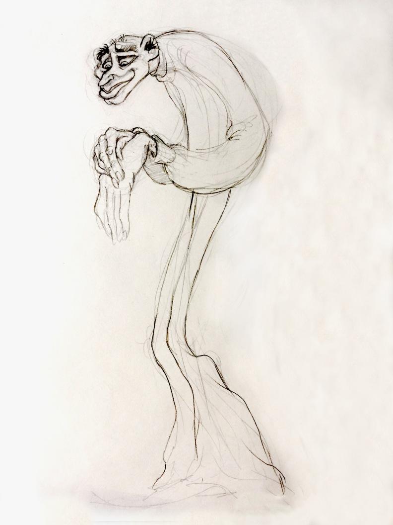 vamp drawing